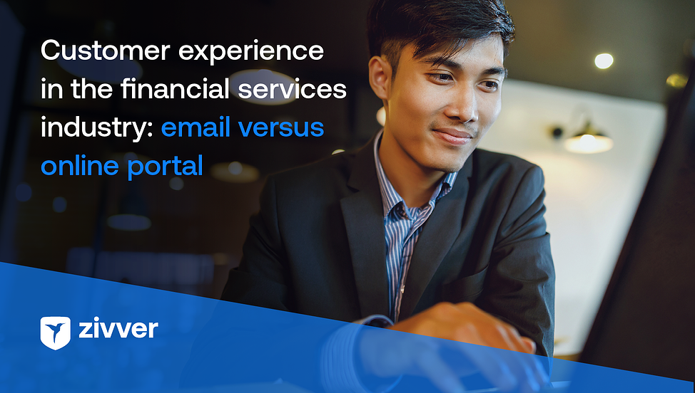 email vs online portal