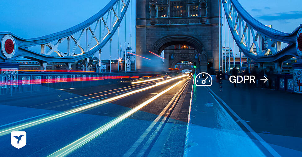London bridge lights moving quickly