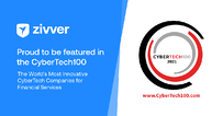 Zivver featured on the CYBERTECH100 list for 2021