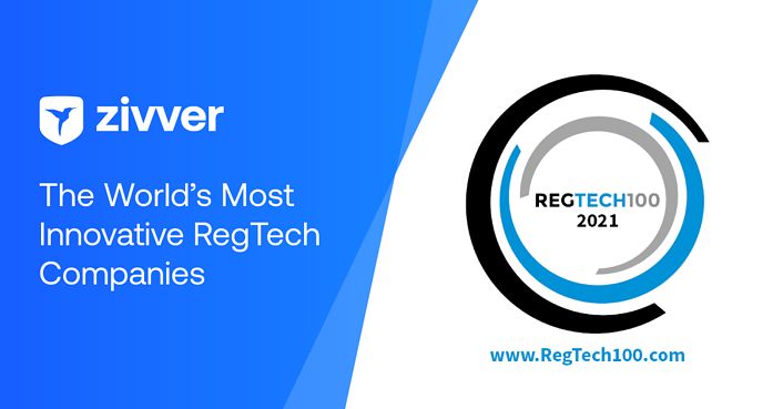 Zivver featured in the REGTECH100 for 2021!