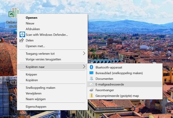 screenschot bestand kopieren naar