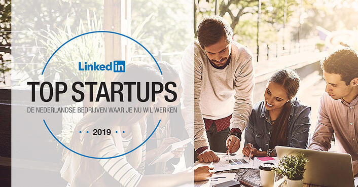 ZIVVER in top 10 LinkedIn Top Startups 2019