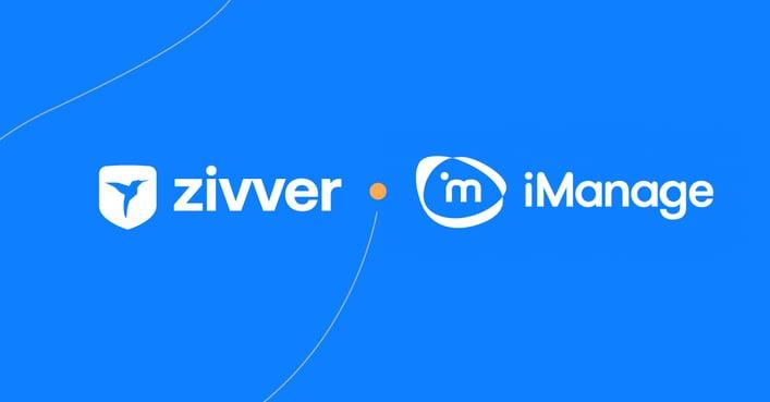 Veilig mailen van Zivver integreert met iManage