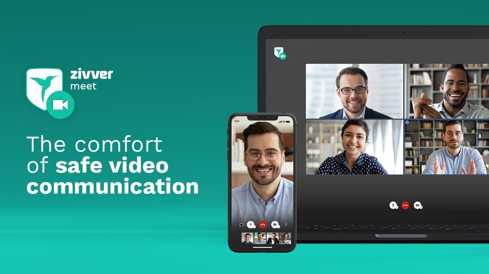 ZIVVER Meet - Veilig Videobellen