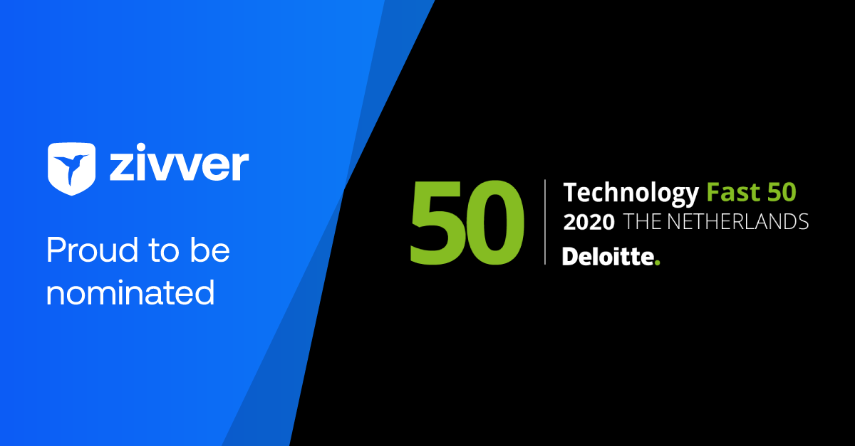 Zivver nominated for Deloitte Technology Fast 50