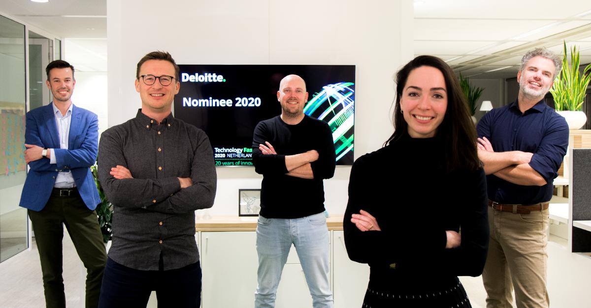 Zivver behaalt 2e plek in Deloitte Technology Fast 50