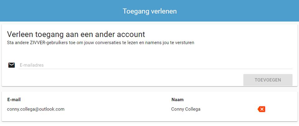 Gebruikerstip: Deel je berichtenbox met anderen